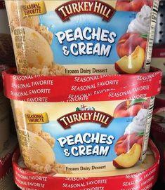 Turkey Hill, Vanilla Ice Cream, Pop Tarts, Sandwiches, Snack Recipes, Frozen, Peach, Desserts, Food