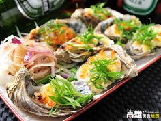Baked oysters #Taiwan #food