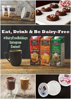 Eat, Drink and Be Dairy Free 2-Week Instagram Contest! Show us your favorite way to enjoy any So Delicious product over the holidays on Instagram - daily prizes! Tag @so_delicious @godairyfree #dairyfreeholidays to enter