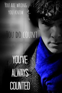 You count