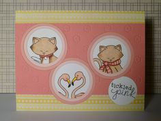 the little mennonite: Newton's One Layer Challenge   Stamps by Newton's Nook Designs!