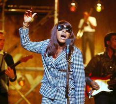 Tina Turner - 1966 - photo by David Redfern.