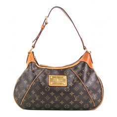 Louis Vuitton Monogram Canvas Thames GM Hobo Bag