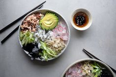 Simple Deconstructed Sushi Bowls