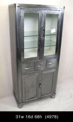 Vintage Pharmacy Cabinet.