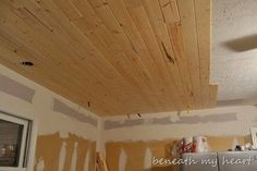 Ceiling, Basement, Paint, Painted Ceiling, Joists, Joist, Flexio 590 Sprayer