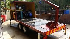 Welding Trailer, Trailers, Image, Hang Tags