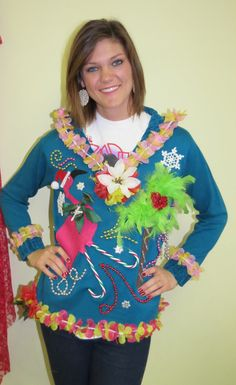 Tropical Tacky Christmas, If you wear this, you will ruin Christmas.