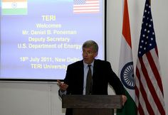 U.S. Deputy Secretary of Energy Daniel Poneman talked with TERI university students and faculty about U.S.-India collaboration on clean energy July 18 in New Delhi. He highlighted ways the countries can partner to build a sustainable, clean energy fu Everything you need to know about living off the grid learn more at www.self-sustainable-living.com