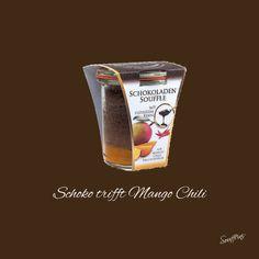 Einzigartiger Genussmoment aus Österreich in nur einem Glas. Unser Soufflini - ein Dessert, was die Sinne berührt. Ein locker-leichtes Soufflé, gebettet auf einem feinen Mango-Chili-Fruchtmark. Aus handwerklicher Herstellung ohne Farb- und Konservierungsstoffe. Shot Glass, Chili, Mango, Dessert, Tableware, Chocolate, Manga, Dinnerware, Chile