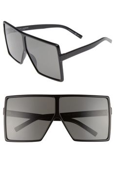 0756554cf4c Saint Laurent Saint Laurent Betty 68mm Square Sunglasses available at   Nordstrom Fall Must Haves