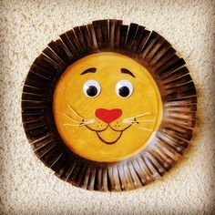 Paper Plate Lion Craft For Kids