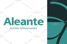 Aleante Sans is very readable, clean and beautiful sans serif designed by Pedro Alexandre Teixeira Sans Serif Font Download, Best Sans Serif Fonts, Wedding Invitation Fonts, Cool Fonts, Graphic Design, Words, Creative, Beautiful, Medium