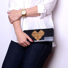 Gold-Plated LEGO Bags and Jewelry | Design Milk