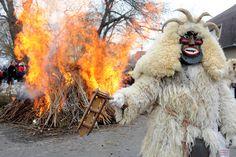 Zvončari The Pagan Slavic Carnival In Croatia