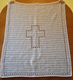 Ravelry: Simple Baptism Blanket pattern by Beth Myers