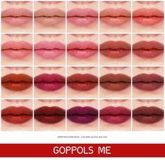 Makeup Mastery – Your guide to perfect makeup Lipsense Lip Colors, Lip Gloss Colors, Matte Lip Color, Lipstick Colors, Linda Hallberg, Glossy Hair, Glossy Lips, Dark Lips, Maxis