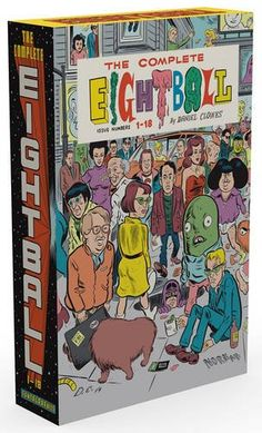 The Complete Eightball 1-18, 2015 The New York Times Best Sellers Hardcover Graphic Books winner, Daniel Clowes #NYTime #GoodReads #Books
