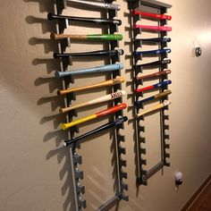Made in the USA Horizontal Mini Bat Rack with Baseball Shelf Baseball Shelf, Baseball Bat Display, Chalk Holder, Masons, Pool Table, Bats, Shadow Box, Projects To Try, Shelves