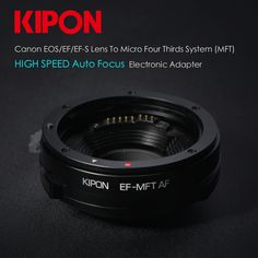 Kipon Brings Out World's First Canon EF/EF-S to Micro Four Thirds Autofocus Electronic Adapter