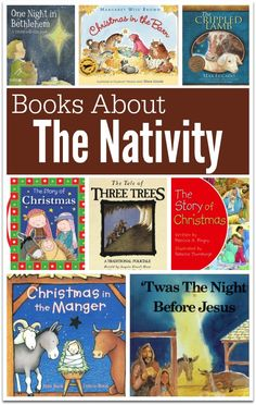 Books About the Nativity - Plus FREE Nativity Printables for Pre-K/K | This Reading Mama