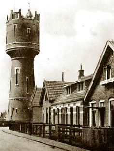 Watertoren Winschoten - architect J. Schotel