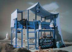 Lundia Boys pirate bed - what a magical idea.