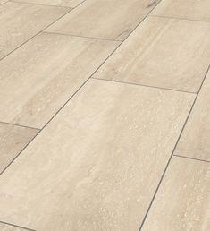Palatino Travertin tile laminate flooring: doorandfloorstore.co.uk