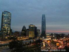 Atardecer en Stgo de Chile