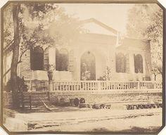 Luigi Pesce | Zerghiandeh. Russian Minister's Country House, 1858 Teheran | The Met