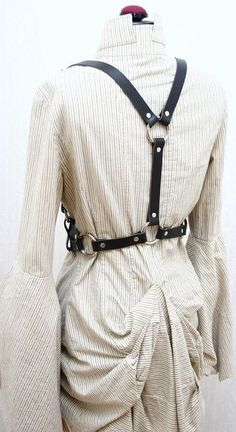 Nora James Leather Double Strap Harness Belt by AudraJean on Etsy, $229.00