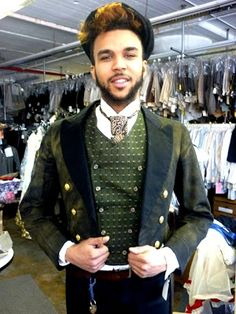 project: fitting with Jidenna Mobisson for his upcoming album
