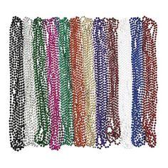 Metallic Beaded Necklaces (48 pc) Fun Express http://www.amazon.com/dp/B002A5FGL6/ref=cm_sw_r_pi_dp_QZtWub0WR2YQQ