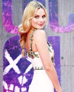 Margot Robbie attends the European Premiere of 'Suicide Squad' at Odeon Leicester Square on August 3, 2016 in London, England
