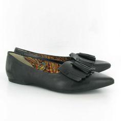 <3: Vagabond 36115 Tassle Loafer Shoes Black