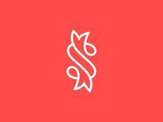S for Sushi by Kakha Kakhadzen #Design Popular #Dribbble #shots