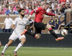 Back to his best? Rooney has found his goalscoring touch on the pre-season tour...