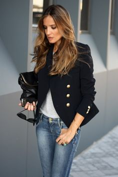 Jacket with jeans perfect