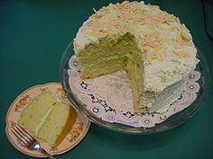 Pistachio Cake make this recipe at home from CopyKat.com.