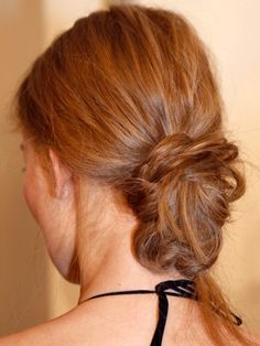 trendy knot hairstyle