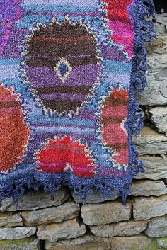 Ravelry: Project Gallery for Suzani Wrap pattern by Kaffe Fassett