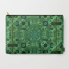 Green One Carry-All Pouch