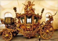 Coronation coach of King Ludwig II of Bavaria (1864)