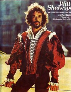 Tim Curry as Shakespeare ;) Two of my favorite people ever...combined in one photo <3