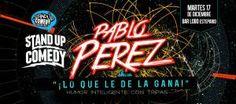 "STAND UP COMEDY presenta: PABLO PÉREZ ""Lo que le dé la gana"" http://www.desktopcostarica.com/eventos/2013/stand-comedy-presenta-pablo-perez-lo-que-le-de-la-gana #CostaRica"