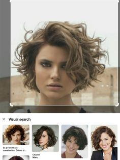 I really like this one! – Pauline I really like this one! I really like this one! Short Curly Haircuts, Curly Hair Cuts, Short Hair Cuts, Curly Hair Styles, Square Face Hairstyles, Curly Bob Hairstyles, Ethnic Hairstyles, Hair Vector, Haircut And Color