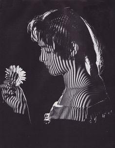 Girl with flower, c1965 by Karel van Straaten. S)