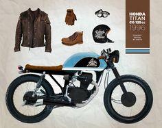 HONDA CG 96 Titan 125cc
