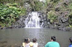 Oahu Family Activities: Naohia Falls (Kalihi Ice Ponds)