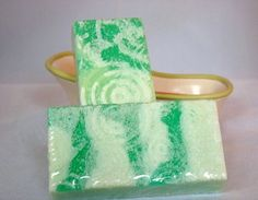 Handmade Freshwater Cucumber Goats Milk Soap by BaierBodyBoutique, $6.00